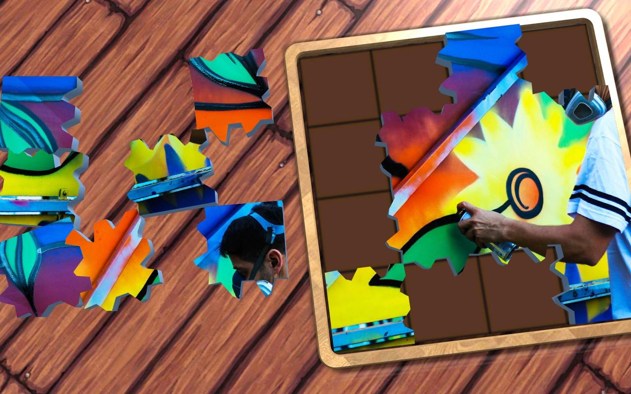 Super Jigsaws Flower Art- screenshot