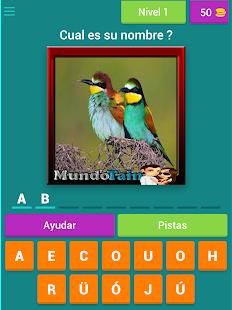 Cuanto sabes de pájaros ? Screenshot