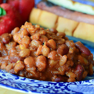 Spicy Baked Beans