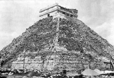 robo del tesoro arqueológico del Cenote de Chichen Itza