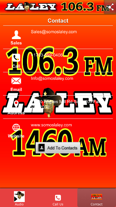 LaLey 106.3 FM- screenshot