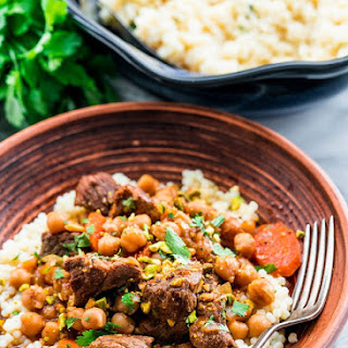 Lamb and Chickpea Tagine.