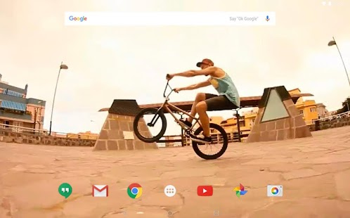Bmx freestyle live wallpaper android apps on google play bmx freestyle live wallpaper screenshot thumbnail voltagebd Choice Image
