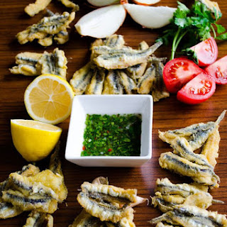 How To Fry Anchovies.
