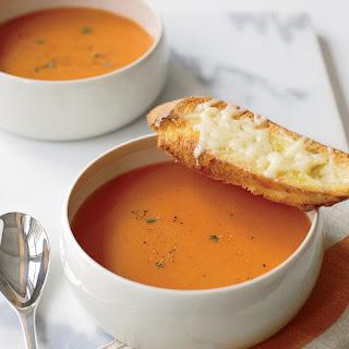Smoky Tomato Soup with GruyèRe Toasts Recipe