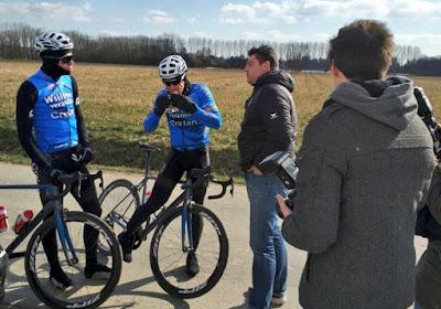 "Van Aert verbaast op de kasseien van Parijs-Roubaix: ""Dit ligt hem nóg beter dan de Omloop"""