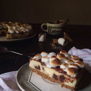 Chocolate Overload S'mores Cheesecake