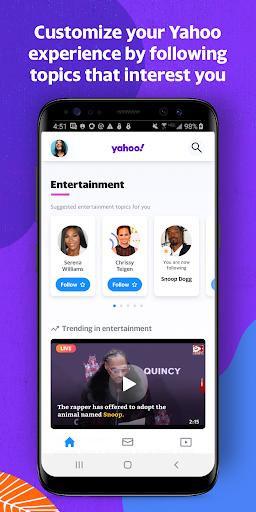 Yahoo - News, Mail, Sports 1.15.0 screenshots 1