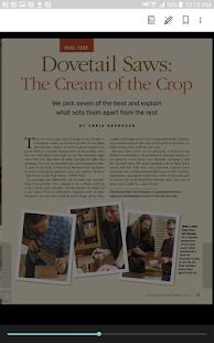 Fine Woodworking Magazine - náhled