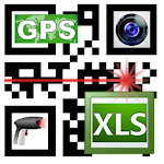 Barcodes, Photos,GPS data to Excel LoMag Inventory Icon