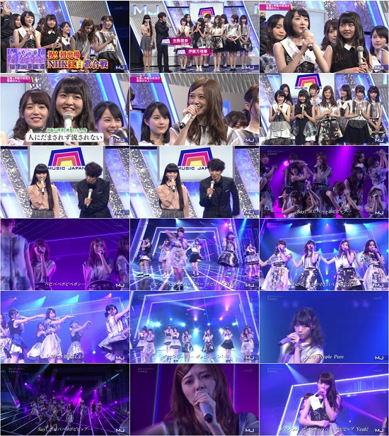 160114 乃木坂46 Nogizaka46 Part – Music Japan