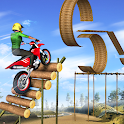 Tricky Bike Trail Stunts - Stunt Bike Racing Games icon