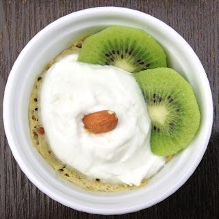 Kiwi and Almond Mug Cake Recipe