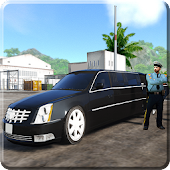 Limousine Car Driving President Security Car Games