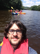 Photo: Evan on the water