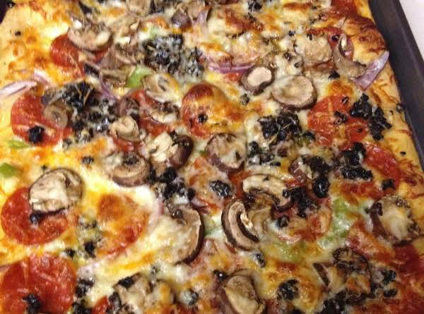 Home Made Pan Pizza Recipe