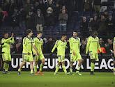 Les notes des Anderlechtois après leur match face à l'Olympiacos