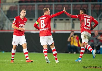 AZ Alkmaar meteen uitgeschakeld in de derde voorronde van de Champions League