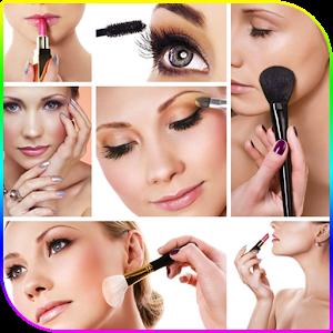 Step by step makeup
