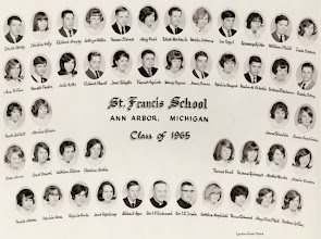 Photo: 8th grade graduating class of 1962