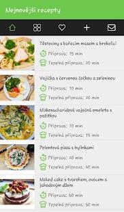 Fit recepty - náhled