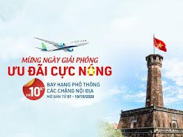Đồng giá 10,000đ bay khắp Việt Nam - Bamboo Airways khuyến mại