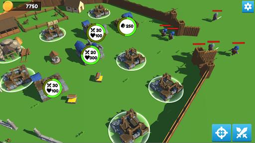 Low Poly Medieval Kingdom APK MOD (Astuce) screenshots 4