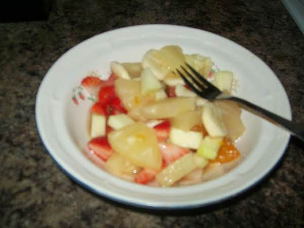 Isaiah's Fruit Salad Recipe