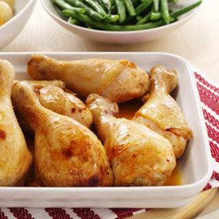 Honey BBQ Chicken with Roast Vegetables