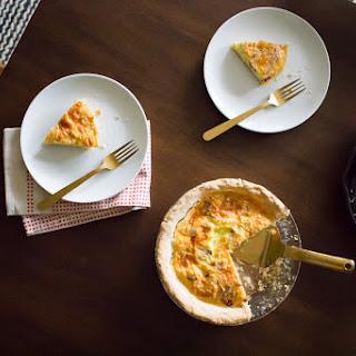 Bacon Quiche with Duck Fat Crust Recipe
