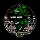 Green puma GO Keyboard