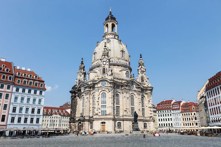 The Lutheran Church of Our Lady (Frauenkirche) in Dresden was rebuilt and reopened in 2005