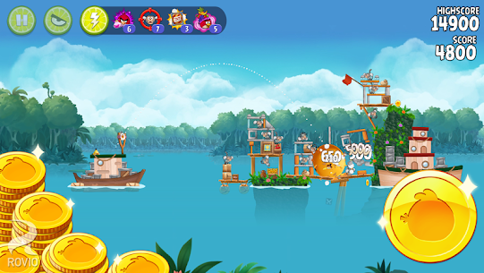 Angry Birds Rio Mod 2.6.13 Apk [Unlimited Coins/Items] 1