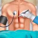 Open Heart Surgery Emergency Hospital Doctor Games icon
