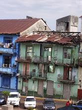 Photo: The run down area of Casco Viejo, Panama City