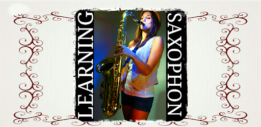 application to learn to play the saxophone with tutorial videos