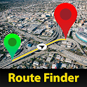 GPS Alarm Route Finder - Map Alarm & Route Planner icon