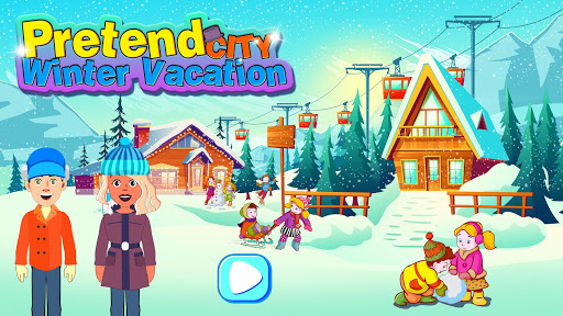Pretend City Winter Vacation 0.4 screenshots 1