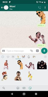 Freddie Mercury Fans Sticker App Screenshot