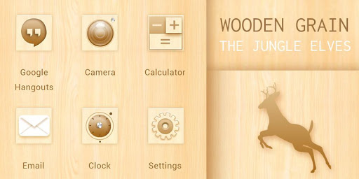 Wooden Style-Solo Theme