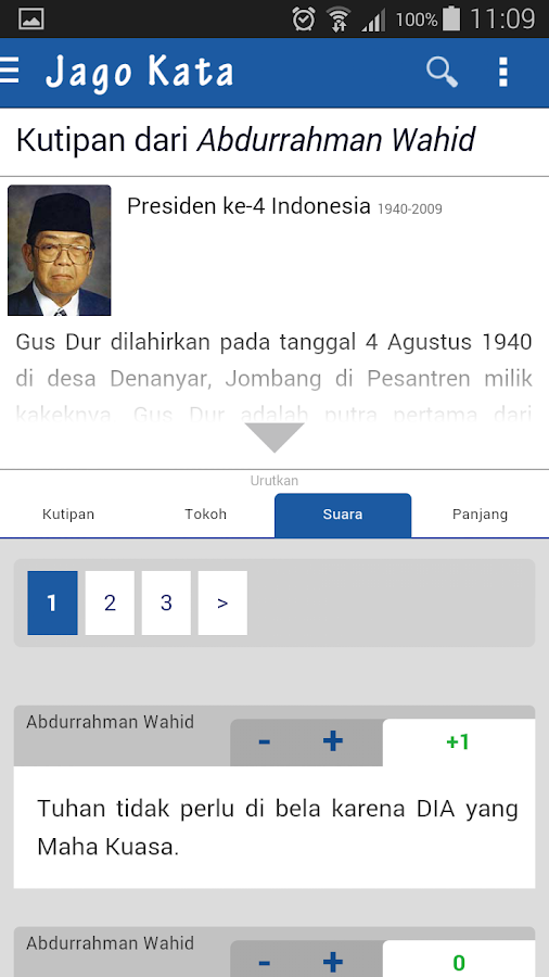 JagoKata - Kutipan Indonesia- screenshot