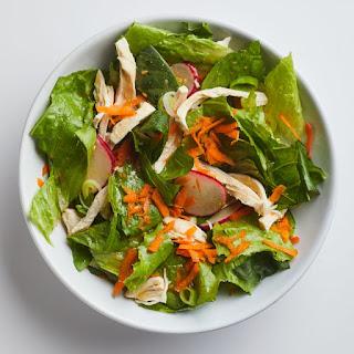 Sesame-Ginger Chicken Salad Recipe