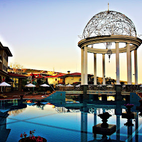 Sunny Beach-Bulgaria by Stoyan Katinov - Buildings & Architecture Architectural Detail ( luxury, pool, hotel, sunny beach, bulgaria )