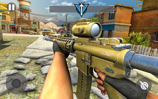 Cover Fire Shooter 3D: Offline Sniper Shooting apkmind screenshots 11