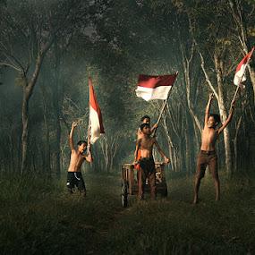 merdeka by Ramadhan Bagaskara Arya Parmuka - Babies & Children Children Candids ( hut )
