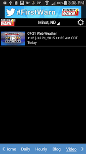 KMOT-TV First Warn Weather- screenshot thumbnail