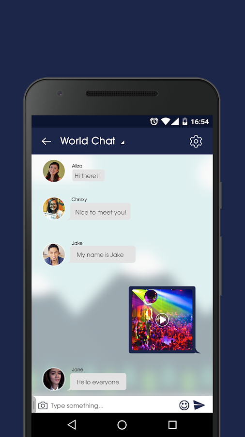 Dating chat room app