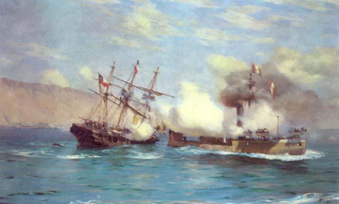 Combate naval de Iquique - Wikipedia, la enciclopedia libre