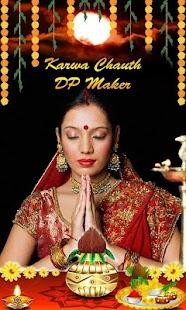 Karva Chauth DP Maker and Profile Pic Maker - náhled