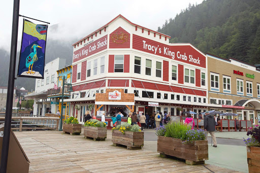Tracy's-King-Crab-Shack.jpg - The landmark tourism spot Tracy's King Crab Shack is within walking distance of the cruise pier in Juneau, Alaska.